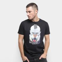 Camiseta Rukes Lobo Masculina -