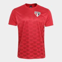 Camiseta São Paulo Hexagonal Masculina - Spr