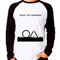 Camiseta Série The Oa Trust The Unknown Raglan Manga Longa - Eanime