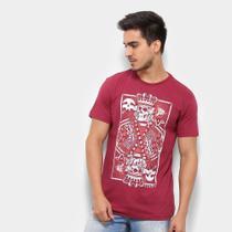 Camiseta Silk Rukes King Of Skull Masculina -