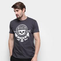 Camiseta Silk Rukes Motorcycle Masculina -