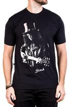 Camiseta Slash Caricatura Gola c/ Elastano - Bandalheira
