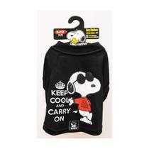 Camiseta Snoopy Charlie Zooz Pets para Cães Keep Cool - Tamanho PP -