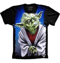 Camiseta Star Wars Yoda Jedi - Camisetas 4Fun