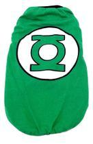 Camiseta Super Heróis Lanterna Verde Verde Tamanho M - Nica Pet