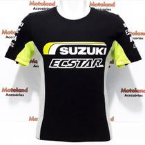 Camiseta Suzuki Ecstar Moto GP Preta 262 -