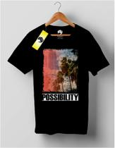 Camiseta T-SHIRT Estampa Possibility - Bw7