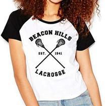 Camiseta Teen Wolf Lacrosse Stilinski Raglan Babylook - Eanime