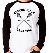 Camiseta Teen Wolf Lacrosse Stilinski Raglan Manga Longa - EANIME