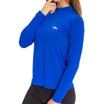 Camiseta Térmica Manga Longa Feminina Azul - Mprotect