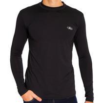 Camiseta Térmica Manga Longa Masculina Preta - Mprotect
