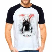 Camiseta The Witcher 3 Wild Hunt Raglan Manga Curta - Eanime