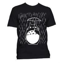 camiseta Totoro Na chuva - Vilões Nerds