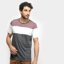 Camiseta Treebo Mescla Blocado Masculina -