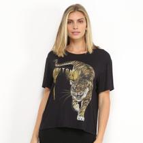 Camiseta Triton Estampa Tigre Feminina -