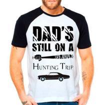 Camiseta Twd The Walking Dead Supernatural Spn Raglan Curta - Eanime