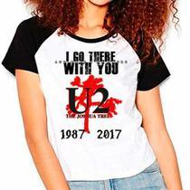 Camiseta U2 Joshua Tree Tour Raglan Babylook - Eanime