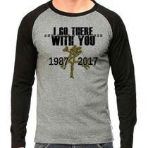 Camiseta U2 Joshua Tree Tour V2 Raglan Mescla - Eanime