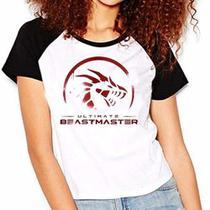 Camiseta Ultimate Beastmaster Serie Netflix Raglan Babylook - Eanime