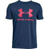 Camiseta Under Armour Sportstyle Logo Infantil Masculino -