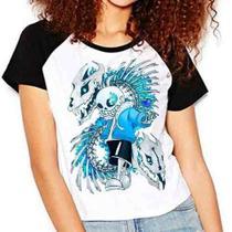 Camiseta Undertale V3 Jogo Game Rpg Raglan Babylook - Eanime