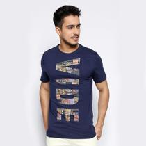 Camiseta Vide Bula Slim Mosaico Masculina -