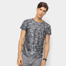 Camiseta Watkins  Krown Geométrica Masculina - Watkinskrown