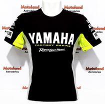 Camiseta Yamaha Moto Gp Preta 261 -