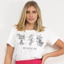 Camisetas Colcci BotanicaLLab Feminina -