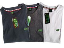 Camisetas Masculinas Basica Gola Redonda Kit com 5 - Use Iguana