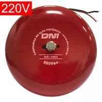 Campainha para Escola Tipo Gongo 220V - DNI 6350 -