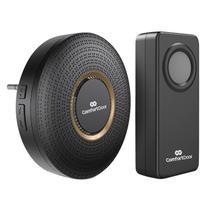 Campainha Sem Fio Wireless Bivolt ComfortDoor Preto - Comfort Door