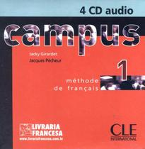 Campus cd classe audio collectif 1 (4) importado - Cle international - paris