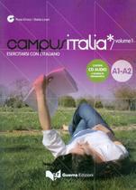 Campus italia 1 (a1/a2)  - esercitarsi con litaliano + cd - Guerra edizioni