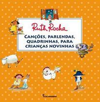 Cancoes, parlendas, quadrimhas, para criancas novinhas - Salamandra Literatura (Moderna)