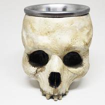 Caneca 3d cranio caveira seca 360ml -