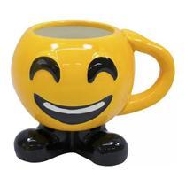 Caneca 3d Porcelana Smile Redes Sociais - 400ml - Taimes