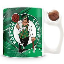 Caneca Alça Bola Personalizada Celtics (Basquete) - Amocanecas