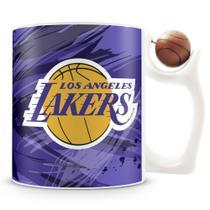 Caneca Alça Bola Personalizada Lakers (Basquete) - Amocanecas