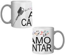 Caneca Amo cantar - Lojaloucospormusica
