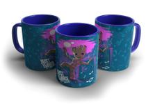 Caneca Baby Groot Just Dance Galaxy - Biohazard