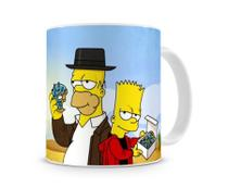 Caneca Breaking Bad Simpsons Homer e Bart - Artgeek