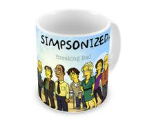 Caneca Breaking Bad The Simpsons Personagens - Artgeek