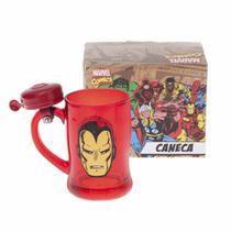 Caneca Campainha Homem De Ferro Marvel Comics 10020471 - Zona criativa