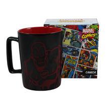 Caneca Cerâmica com Alça Homem de Ferro Marvel 500ml -