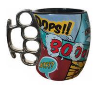 Caneca Ceramica Soco Ingles Gibi Comics 350ml Unika -