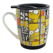 Caneca Com Tampa - Bart Simpson - The Simpsons - Zona criativa