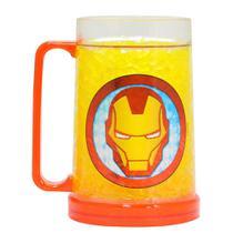 Caneca Congelável Homem de Ferro  400ml - Marvel