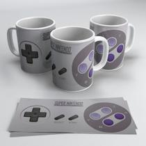 Caneca Controle Super Nintendo - Mood