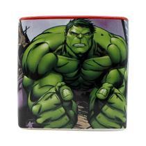 Caneca Cubo Marvel Avengers Quadrada 300ML Licenciada - Zc